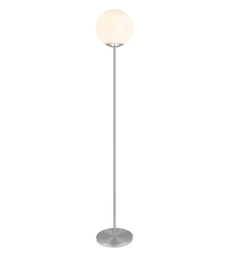 Eglo 89699A Romy 63 inch 23 watt Matte Nickel Floor Lamp Portable Light photo