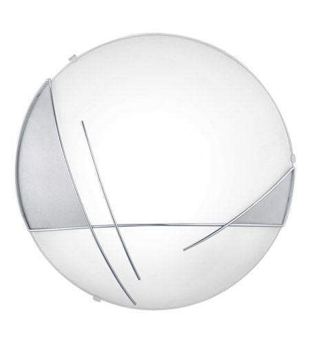 Eglo Raya 1 Light Wall Light in Chrome & Satin 89758A photo
