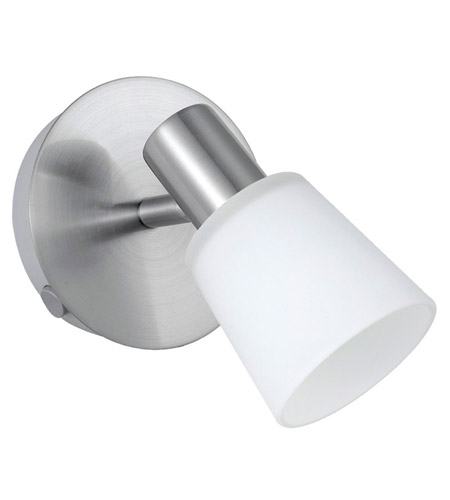 Eglo 89942A Gino 1 Light 5 inch Matte Nickel Wall Spot Wall Light photo