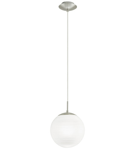 Eglo 90007A Milagro 1 Light 8 inch Silver Pendant Ceiling Light photo