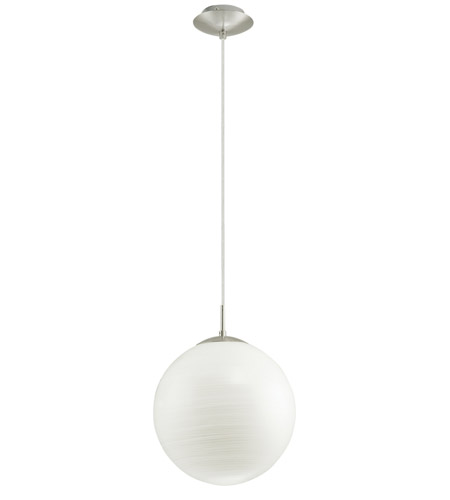 Eglo 90008A Milagro 1 Light 10 inch Silver Pendant Ceiling Light photo