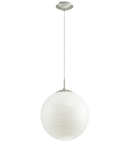 Eglo Lighting Milagro 1 Light Pendant in Silver 90009A