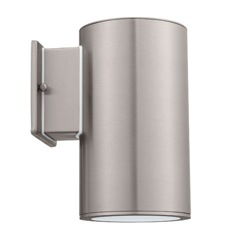 Eglo Lighting Ascoli 1 Light Wall Light in Stainless Steel 90119A photo