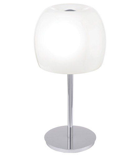 Eglo 90125A Dario 20 inch 40 watt Chrome Table Lamp Portable Light photo
