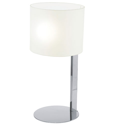 Eglo Chicco 1 Light Table Lamp in Chrome 90127A photo