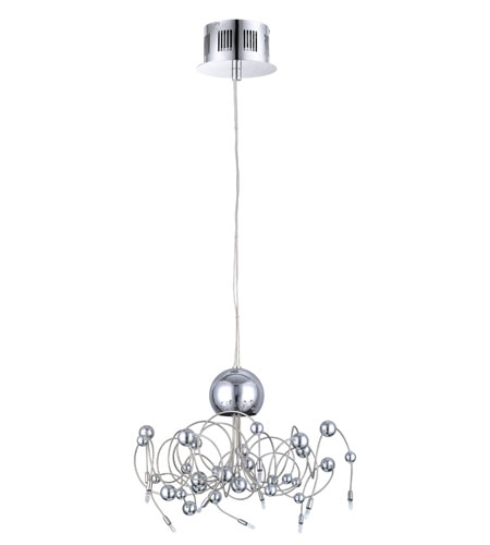 Eglo Othello 10 Light Chandelier in Chrome 90155A photo