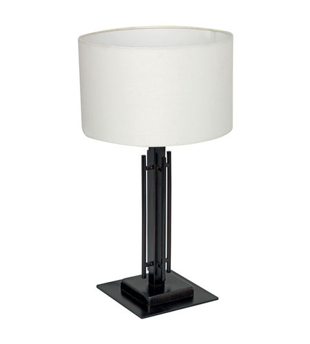 Eglo Tabea 1 Light Table Lamp in Oil Rubbed Bronze 90327A photo