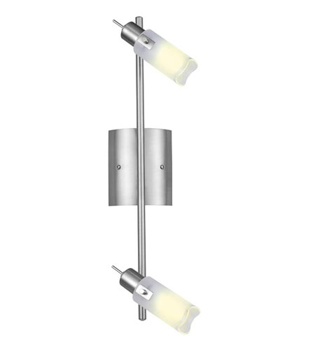 Eglo Danita 2 Light Wall/Ceiling Light in Matte Nickel 90374A photo