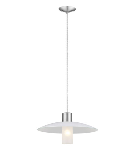 Eglo Lighting Kiara 1 Light Pendant in Matte Nickel 90414A photo