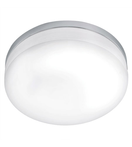 Eglo Lora 1 Light Ceiling Light in Chrome 90569A photo