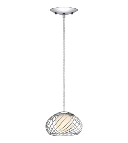 Eglo Lighting Thebe 1 Light Pendant in Chrome 90755A photo