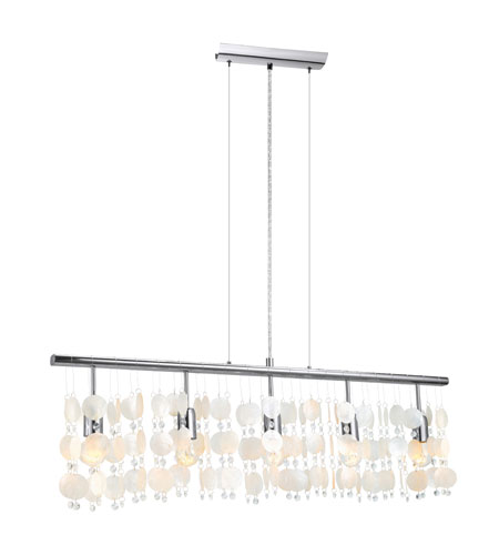 Eglo Vitoria 5 Light Trestle Hanging Light in Chrome 90819A photo