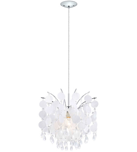 Eglo 91046A Fedra 1 Light 15 inch Chrome Chandelier Ceiling Light photo