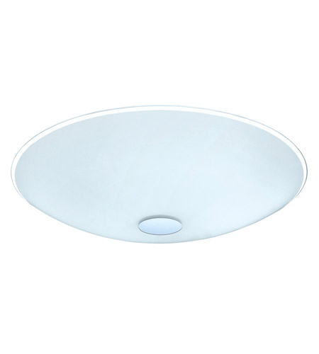 Eglo 91248A Nube 3 Light 22 inch Chrome Flush Mount Ceiling Light photo
