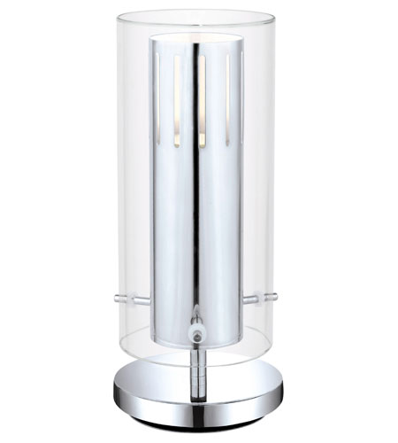Eglo Pinto 1 Light Table Lamp in Chrome 91328A photo