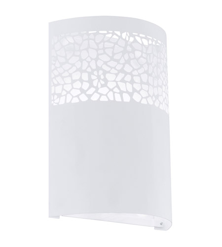 Eglo 91416A Carmelia 1 Light 7 inch White Wall Sconce Wall Light photo
