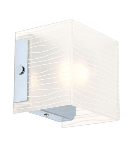 Eglo Lighting Alea 1 1-Light Wall Sconce in Chrome 91984A photo