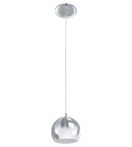 Eglo Lighting Petto 1-Light Pendant in Brushed Nickel 92356A photo