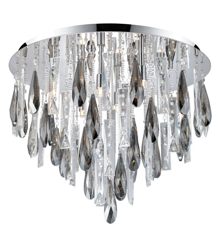 Eglo 93433A Calaonda 8 Light 22 inch Chrome Ceiling Light photo