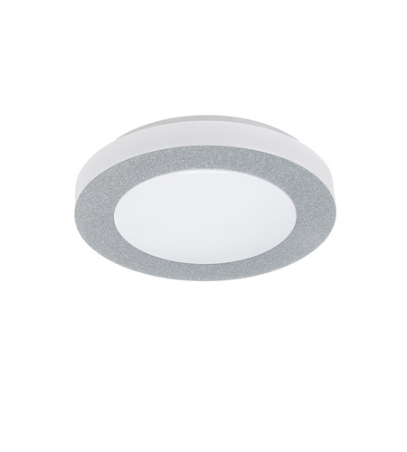 Eglo 93507A Carpi LED 12 inch Chrome Flush Mount Ceiling Light photo