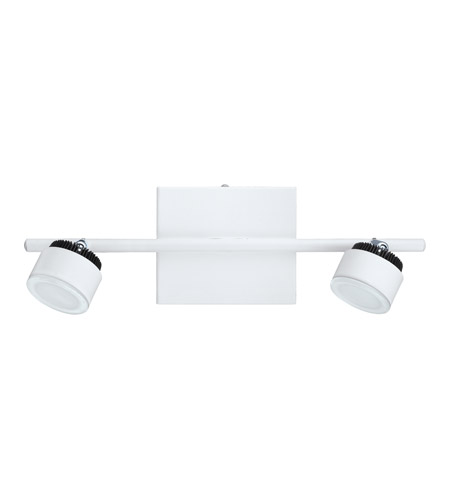 Eglo 93853A Armento 2 Light 120V White & Black Track Light Ceiling Light photo