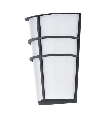 Eglo 94138A Breganzo LED 10 inch Anthracite Outdoor Wall Light photo