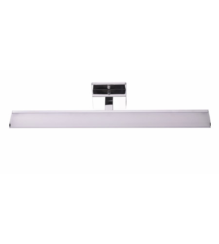 Eglo 94613a tabiano led 24 inch chrome vanity light wall light white shade