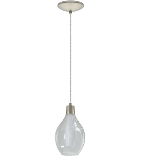 Eglo 95388A Pontevedra 1 Light 6 inch Matte Nickel Mini Pendant Ceiling Light photo