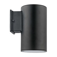 Eglo Lighting Ascoli 1 Light Wall Light in Black 200146A