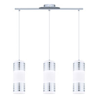 Bayman 3 Light 28 inch Chrome Island Trestle Light Ceiling Light