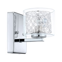 Eglo Lighting Panella 1-Light Wall Sconce in Chrome 200264A