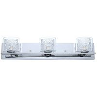 Eglo Lighting Panella 3-Light Vanity Light in Chrome 200265A