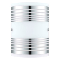Eglo 200302A Bayman 1 Light 7 inch Chrome Wall Light