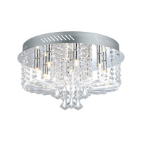 Ornella (1) 9 Light 18 inch Chrome Ceiling Light