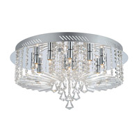 Ornella (1) 15 Light 24 inch Chrome Ceiling Light