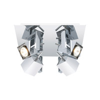 Eglo Manao 4 Light Track Light in Chrome 200391A