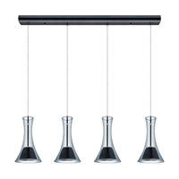 Eglo Musero LED Multi Light Pendant in Matte Nickel 200883A