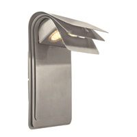 Eglo Sojo LED Outdoor Wall Light in Satin Nickel 200889A