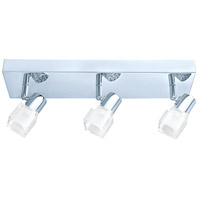 Eglo 200905A Nocera 3 Light 120V Chrome Track Light Ceiling Light
