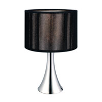 Eglo Fabienne 1 Light Table Lamp in Chrome 20104A