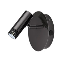Eglo Lianello LED 1 Light Wall Track Light in Black Chrome 201221A