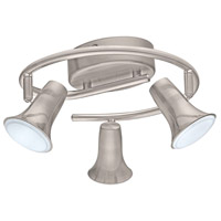 Eglo 201448A Jumilla 3 Light Matte Nickel Track Light Ceiling Light