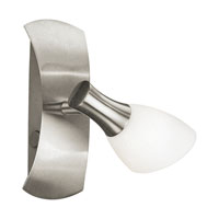 Ona I Matte Nickel 40 watt 1 Light Spot Light