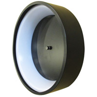 Marghera I LED 23 inch Matte Black Flush Mount Ceiling Light