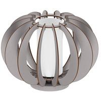 Eglo 202121A Stellato Colore 9 inch 40 watt Matte Nickel Table Lamp Portable Light