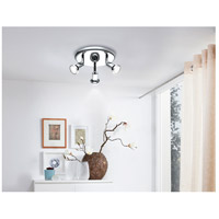 Eglo 202375A Buzz 2 3 Light 120V Chrome Track Light Ceiling Light alternative photo thumbnail