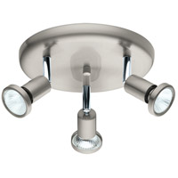 Eglo 202376A Buzz 2 3 Light 120V Matte Nickel Track Light Ceiling Light