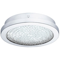 Eglo 202509A Arezzo 2 LED 11 inch Chrome Flush Mount Ceiling Light