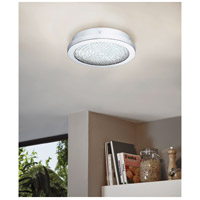 Eglo 202509A Arezzo 2 LED 11 inch Chrome Flush Mount Ceiling Light alternative photo thumbnail