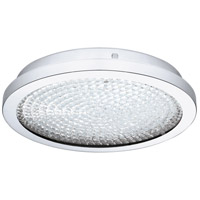 Arezzo 2 LED 14 inch Chrome Flush Mount Ceiling Light